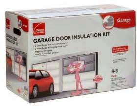 garage door insulation reduces garage drafts and quiets