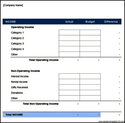 business marketing budget plan template download sle
