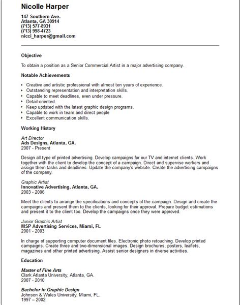 Sle Resume For Beginners resume sle format for beginners