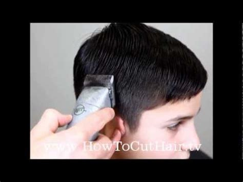tapered haircut how to blend hair with clippers