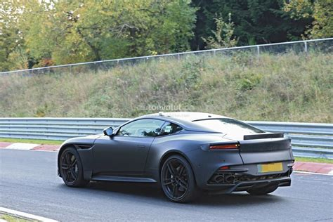 future aston martin 2019 aston martin vanquish aimed squarely at the ferrari