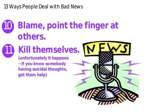 8 Ways To Deal With Newspaper by 13 Ways Deal With Bad News