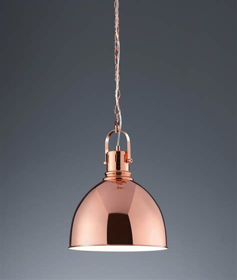 Trendy Pendant Lights Stylish Metal Pendant Available In Copper Or Satin Nickel