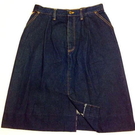 vintage vintage wrangler denim skirt from alisa s closet