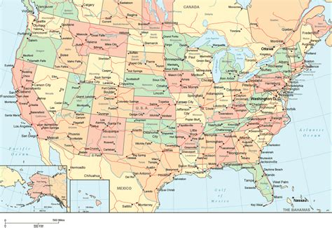 large us road map ookgrylerap detailed map of usa with states and