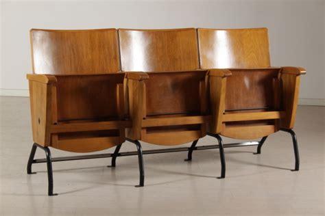 sedie cinema legno sedie da cinema a tre posti