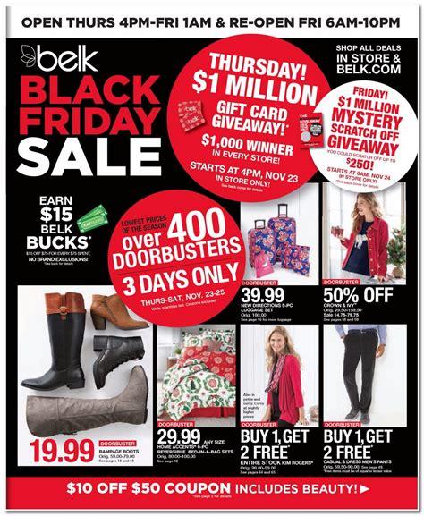 black friday sale 2017 belk black friday ad 2017