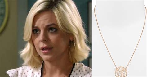 gh maxies hair feb 13th 2015 i m a soap fan maxie jones s gold initial necklace general hospital season 53 episode 95