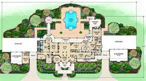 amazing mansion floor plans mediterranean mansion floor