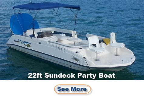 boat rental miami party miami party boat rental 20 25 ft party boats