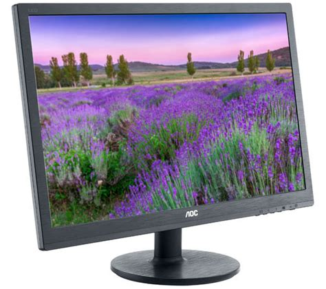 buy aoc e2460sh hd 24 quot led monitor free delivery currys