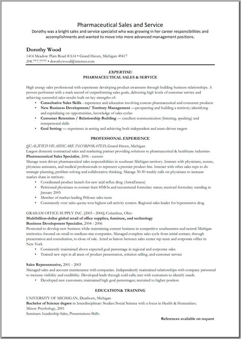 some resume sles pharmaceutical resume templates basic resume templates