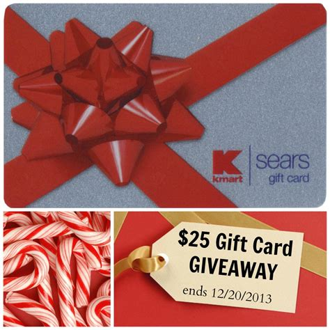 Can Sears Gift Cards Be Used At Kmart - 25 sears or kmart gift card giveaway livin the mommy life