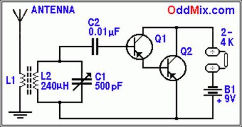 darlington transistor radio two transistor no frequency conversion unique am