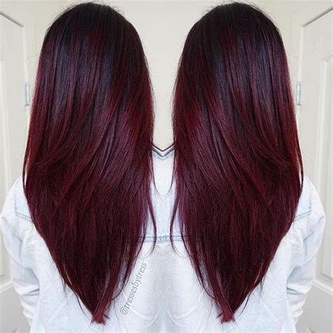 Different Types Of Burgundy Hair Color by 17 Best Ideas About Hair On Cracky Chan