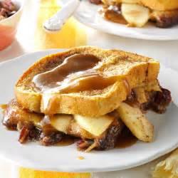 apple stuffed toast bake recipe taste of home