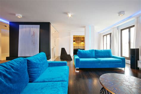 city center apartment designed  hola design located  warsaw keribrownhomes