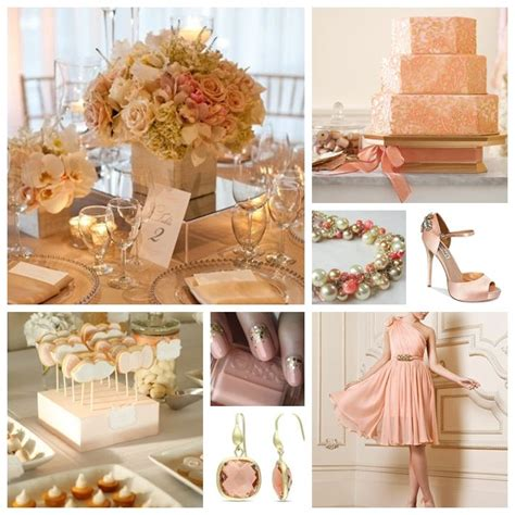 peach and gold peach and gold wedding inspiration weddings get