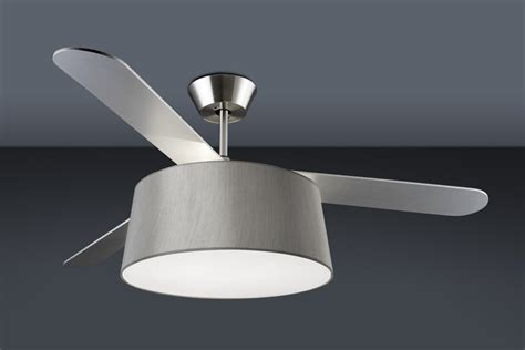 modern fan with light modern ceiling fan with drum light shade