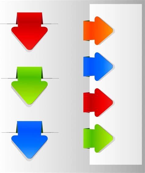 bookmark template for adobe illustrator arrow bookmark labels free vector in adobe illustrator ai