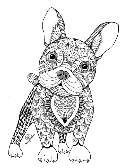 birthday mandala coloring pages frenchie coloring mandala and coloring books