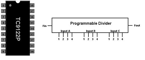 programmable resistor divider the defpom tc9122 component info page