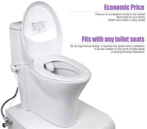 Installing A Bidet Attachment New Bidet Non Electric Toilet Attachment With