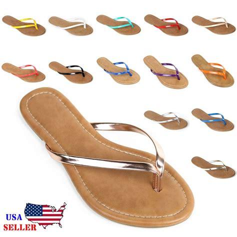 slipper sandals new womens summer comfort casual flat flip flops