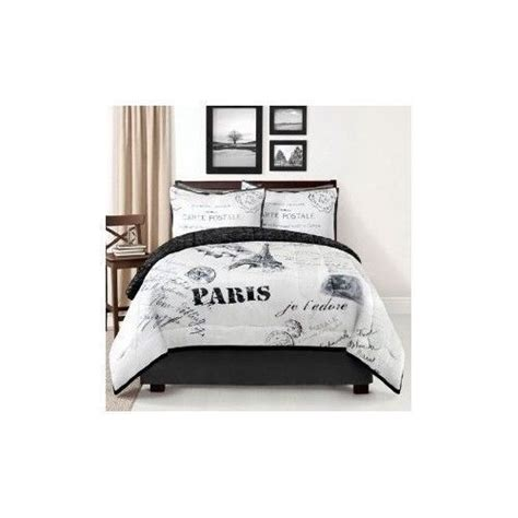 paris themed comforter set paris comforter set themed in bedding bedskirt 4 pc king