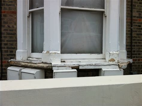 Bay Window Sill Rebuild Cracked Concrete Window Sill Handyman In