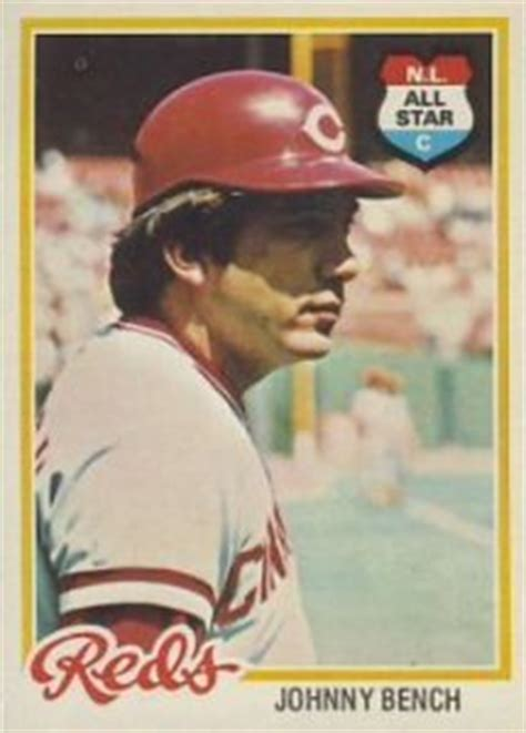 johnny bench baseball reference 24 johnny bench baseball cards you need to own old