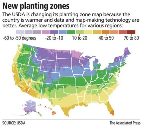 gardening zones by zip code two and a farm new 2012 usda hardiness zone map
