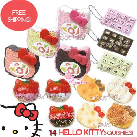 Squishy Licensed Kawaii Mangosteen Fruit Original set 14 squishies licensed sanrio free gift
