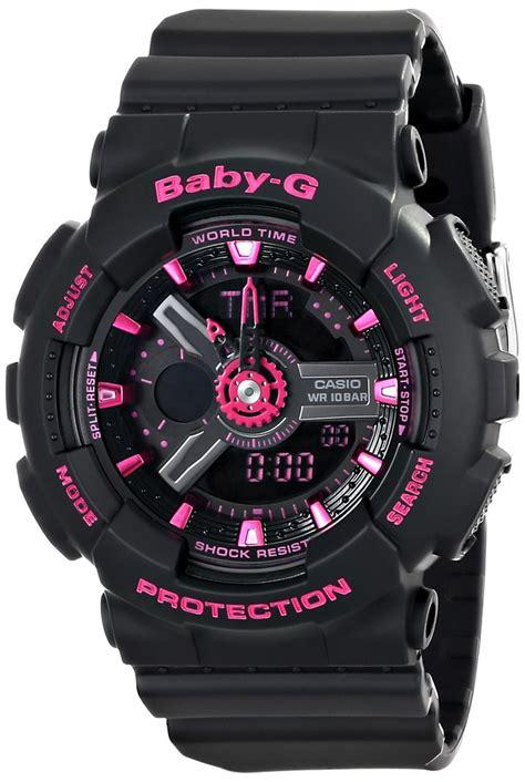Gshock Baby G Black Pink casio s ba 111 1acr baby g analog