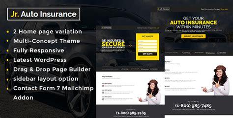 life insurance agency html website template design life insurance