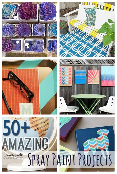 spray paint projects 50 amazing diy spray paint projects to make