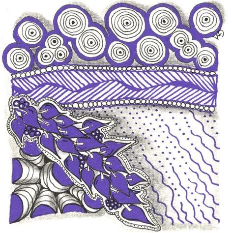 zentangle pattern meer one easy step grace mendez