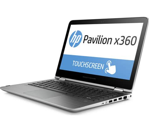 Tempat Hp 2 In 1 hp pavilion x360 13 s150sa 13 3 quot 2 in 1 silver deals pc world