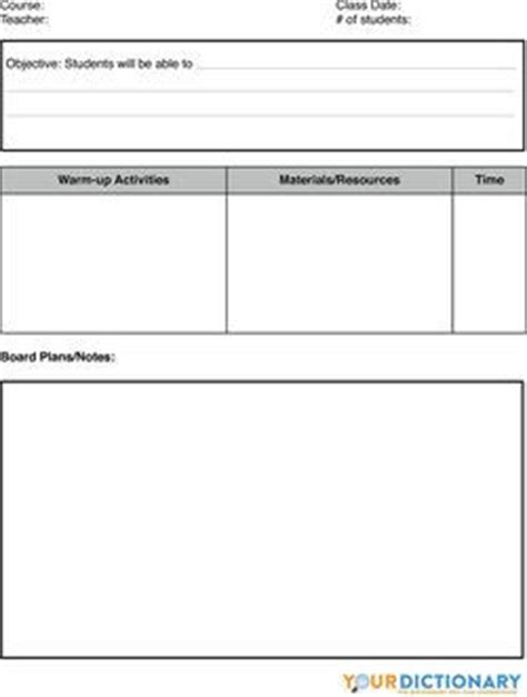efl lesson plan template 25 best ideas about lesson plan templates on