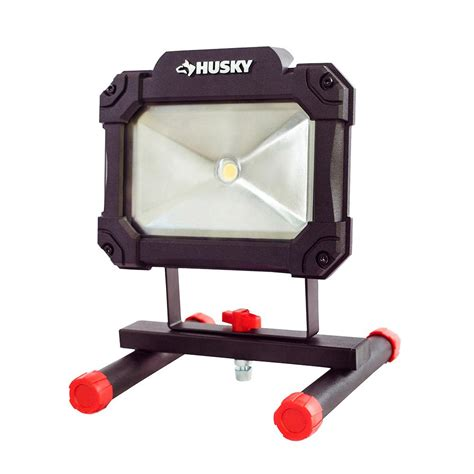 Husky 1500 Lumen LED Portable Worklight K40066 The Home Depot