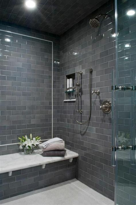 graue badezimmer designs 120 moderne designs glaswand dusche archzine net