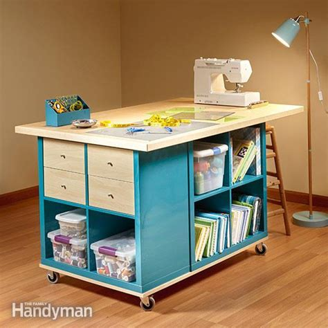 craft table with storage 25 creative diy projects to make a craft table i