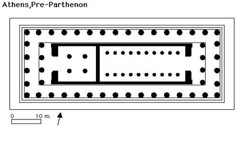 floor plan of the parthenon parthenon gallery of images
