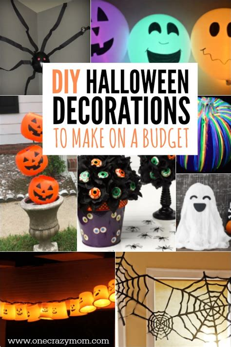 halloween decorations you can make at home diy halloween decoration ideas 25 budget friendly ideas