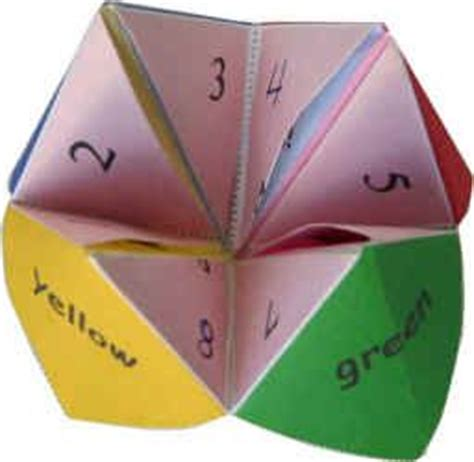 What Is Origami Paper Called - 25 best ideas about paper fortune teller on