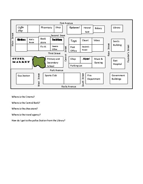 print driving directions in spanish 47 free directions giving and asking worksheets