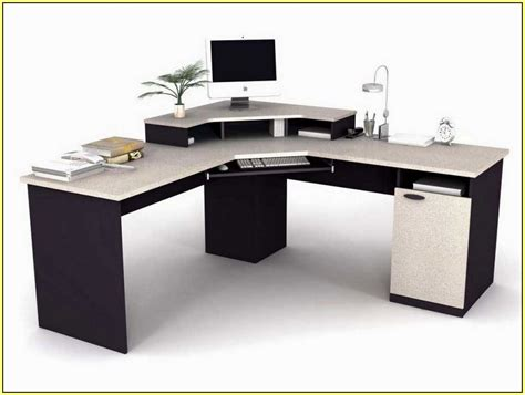 L Shaped Garages awesome computer desks home design ideas