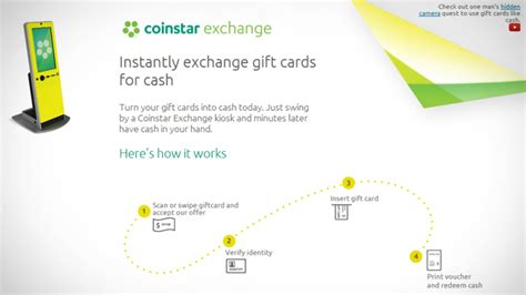 Coinstar Gift Card Exchange Kiosk - coinstar exchange kiosks take your unused gift cards for cash