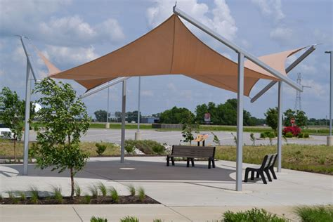 awning structures tensile structures fabric tension structures
