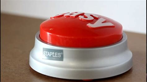 staples easy button that was easy youtube